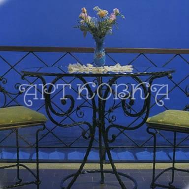 Кованый стол Шато