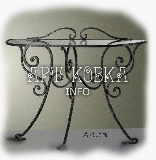 Кованый Ажурный столик