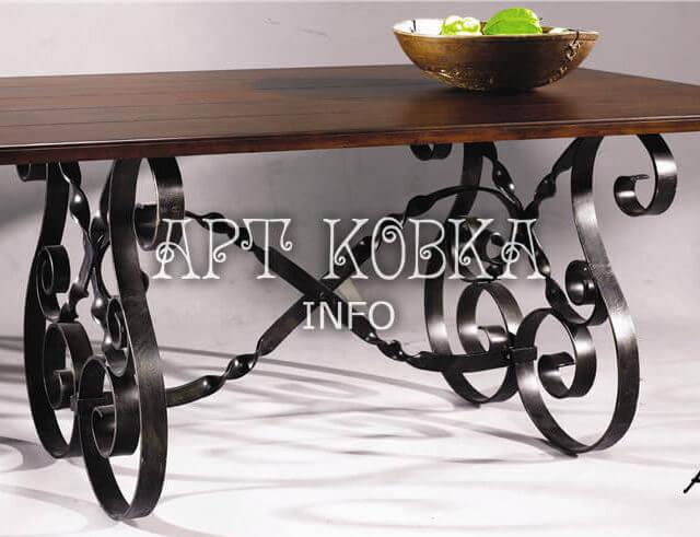Кованый стол Астерия