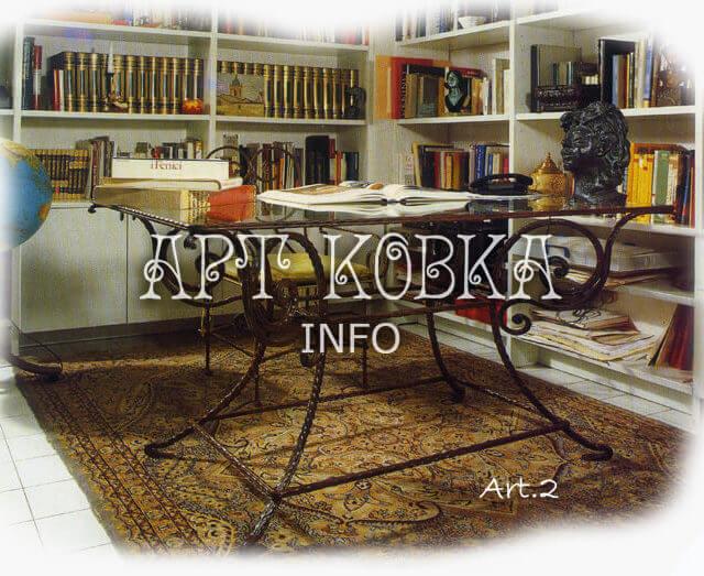 Кованый стол Галилео
