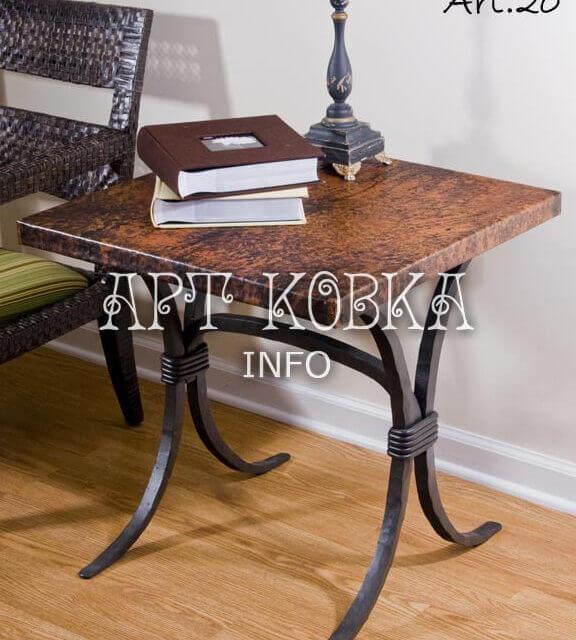 Кованый столик Сонет