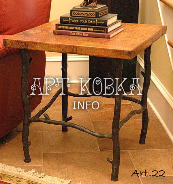 Кованый стол Падуб
