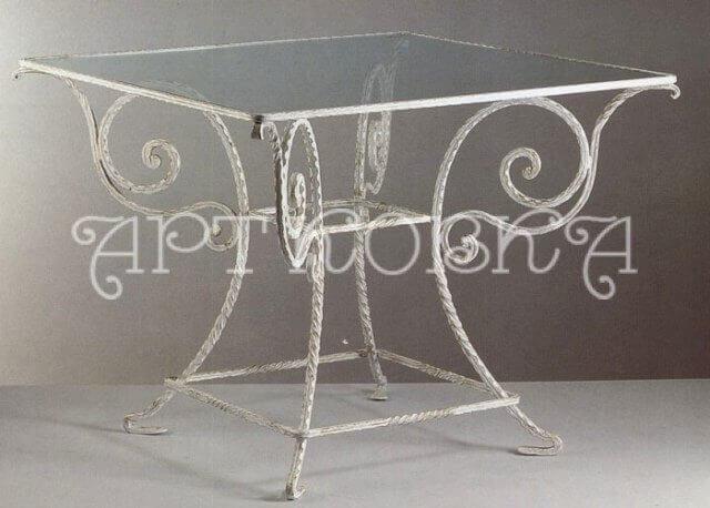 Кованый стол Антик