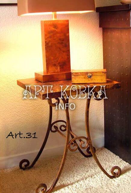 Кованый стол Кованая мебель 2 (бн)