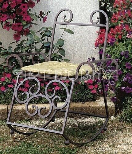 Кованые стулья Каприс