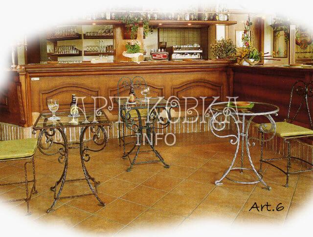 Кованые стулья Элементс