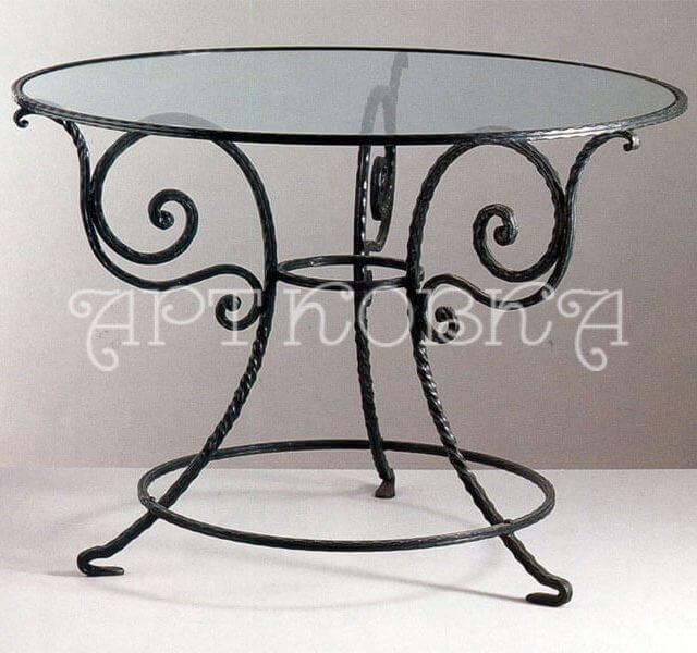 Кованый стол Марсель