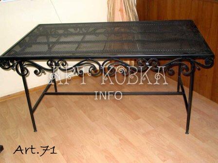 Кованый стол Риалис