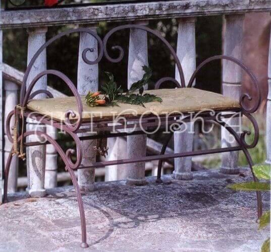 Кованая скамейка Луар