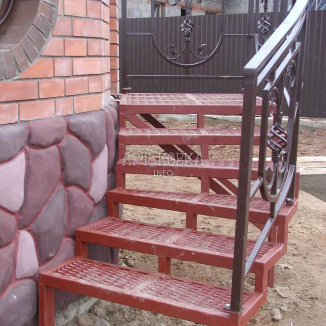 Сварная лестница Веста