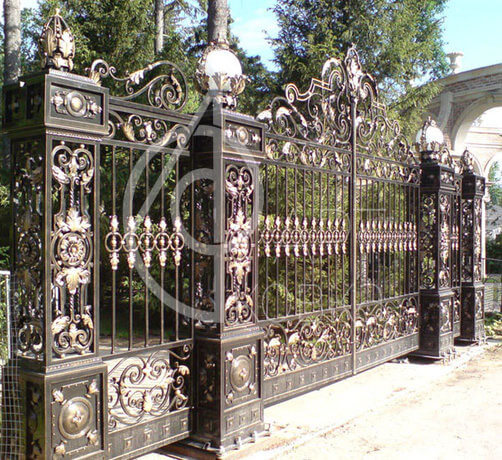 Кованые ворота Роял 50