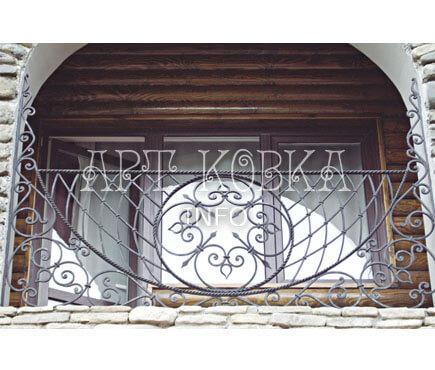 Кованые ограждения балконов Сапфир