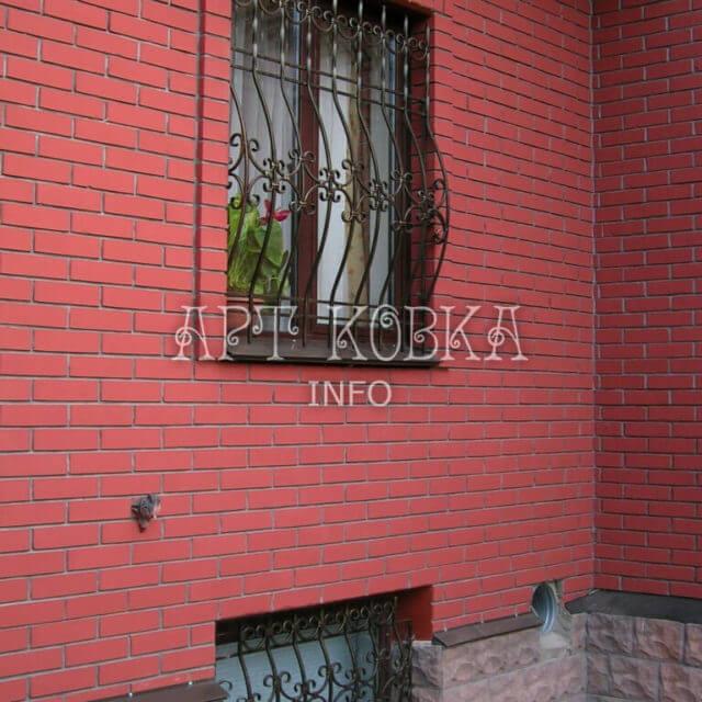 Кованые решетки на окна Дуэт