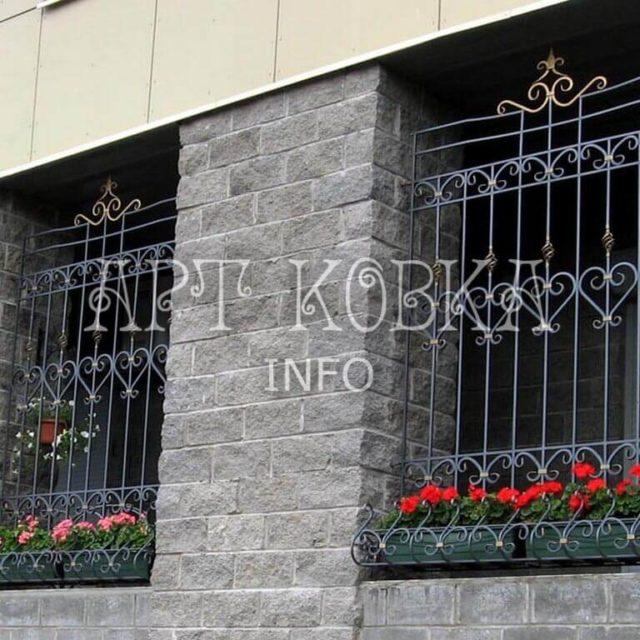 Кованые решетки на окна Илир