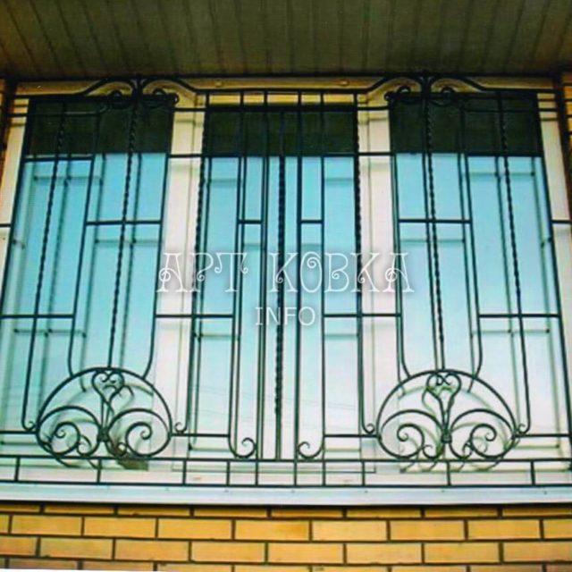 Кованые решетки на окна Самтир