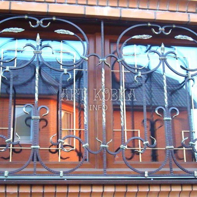 Кованые решетки на окна Киела