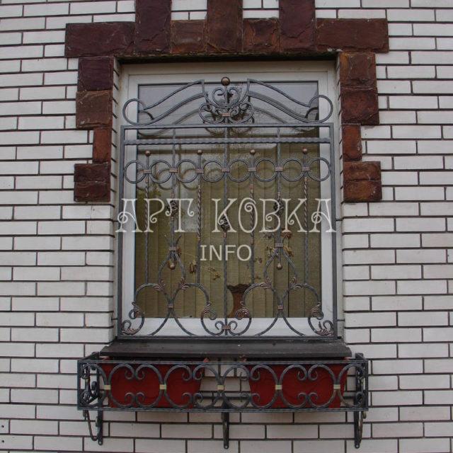 Кованые решетки на окна Арсид