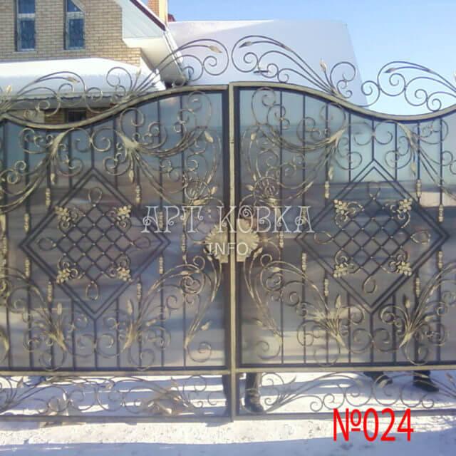 Кованые ворота Арсика