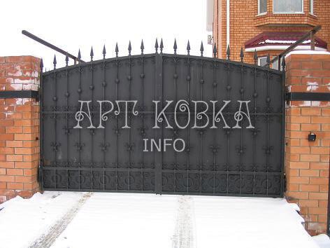 Сварные ворота Торсика