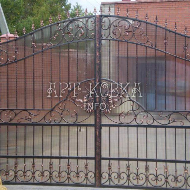 Кованые ворота Лафрен