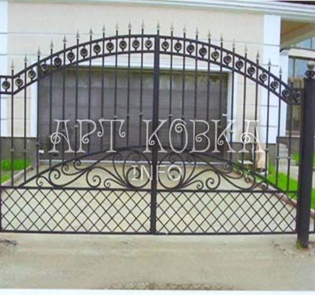 Сварные ворота Ригольд