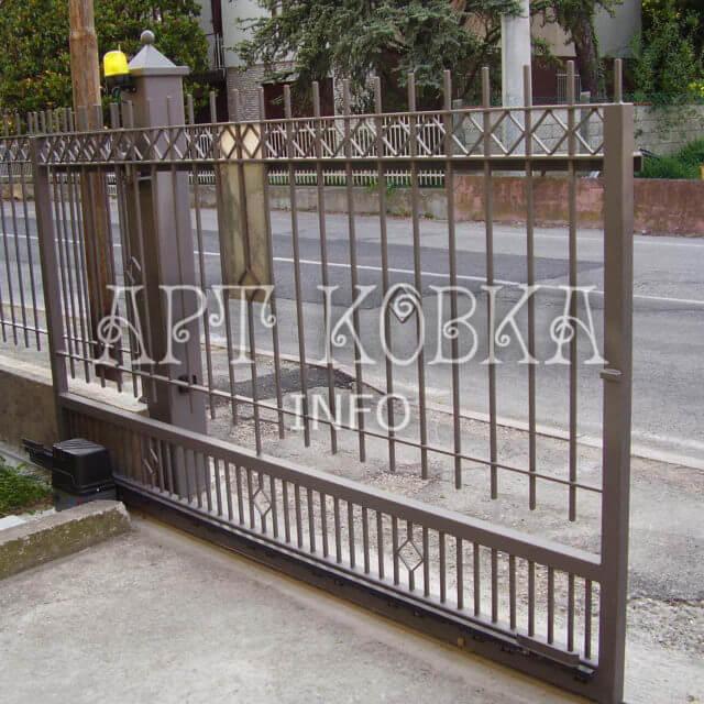 Сварные ворота София