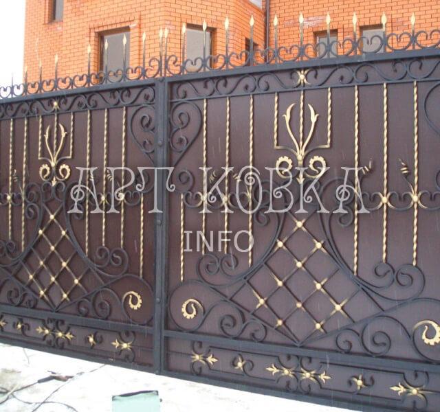 Кованые ворота Сорика