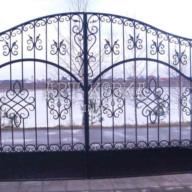 Кованые ворота Лабрие