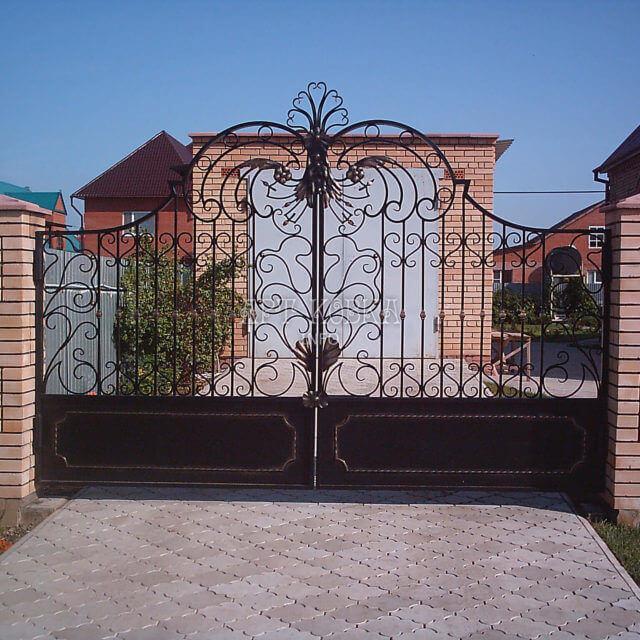Кованые ворота Айриса