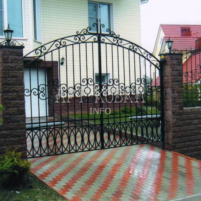 Сварные ворота Сиэла