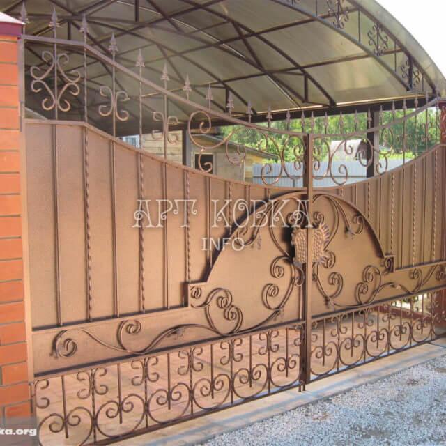 Кованые ворота Рамиро