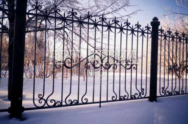 Кованый забор Фаиран