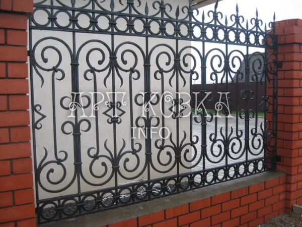 Кованый забор Каршир